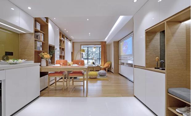 广州南浦克拉码头公寓样板间 - 智能百变魔力空间