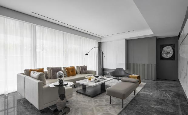 【尚东湾】项目170户型住宅样板间室内软装