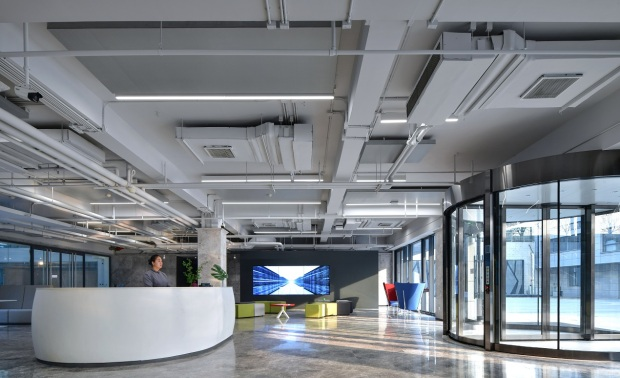 北京北明软件总部大楼室内精装修设计项目