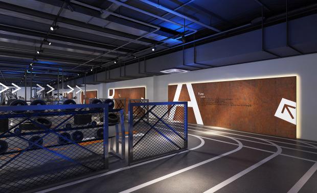 北京顽铁健身会馆室内设计
