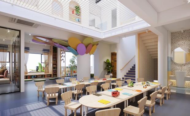 广西柳州童院儿童成长馆设计
