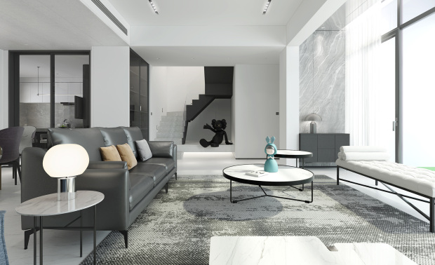 黑白灰——宁静与统一