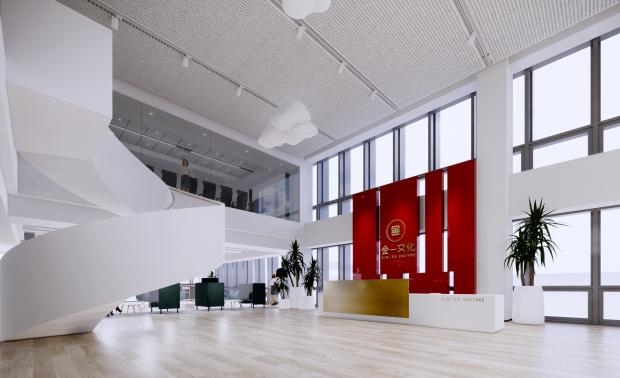北京金一五棵松办公场地室内设计