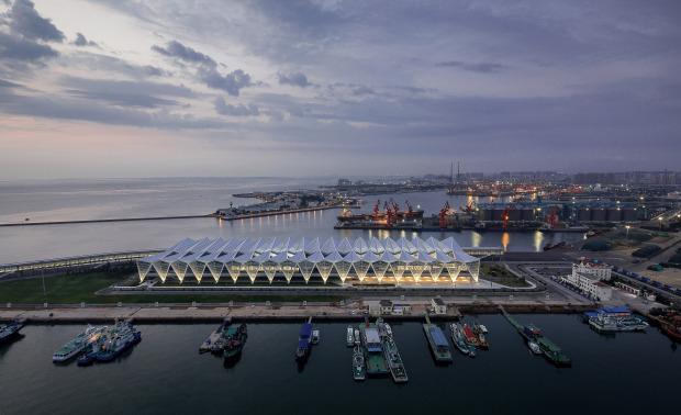 青岛邮轮母港客运中心