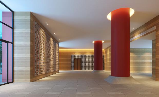 广西柳州铁一中新校区图书馆设计