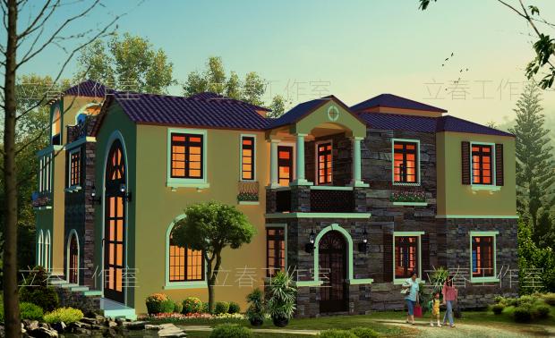 沿海未来独栋别墅改扩建
