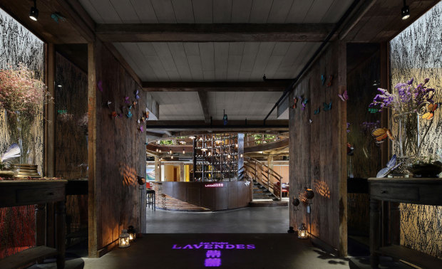 Les Violet Lavendes紫薰餐厅