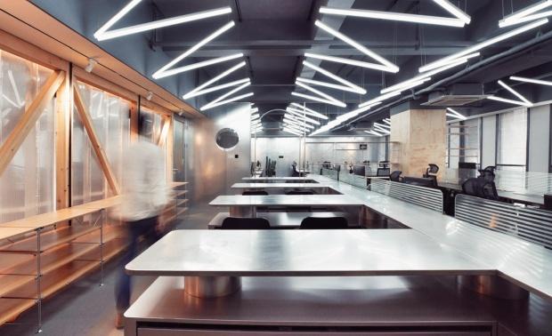 泛城室内设计院新办公空间