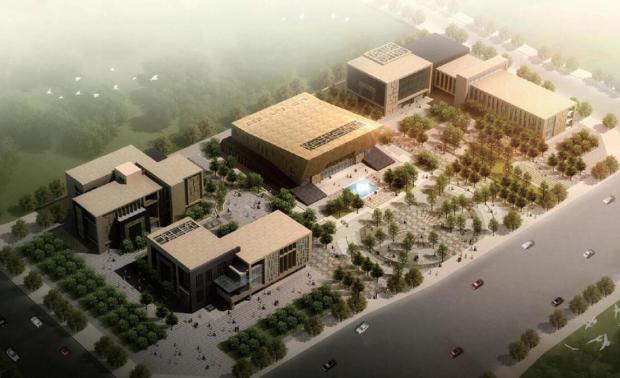 重庆秀山县档案馆、图书馆、文化馆、规划展览馆