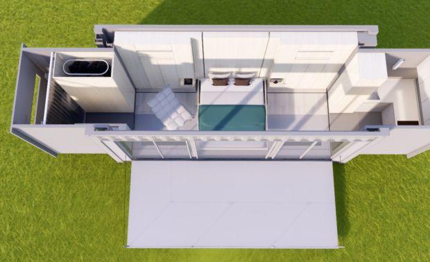 6米货柜,未来居家科技设备