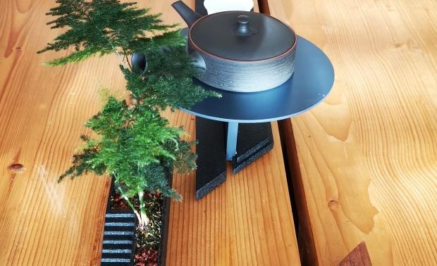 上相-茶器 杯置与果盘(大地与建筑)