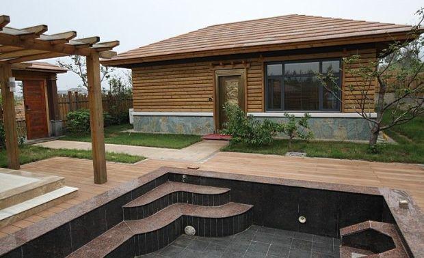 嵖岈山温泉小镇木屋一期全案设计施工