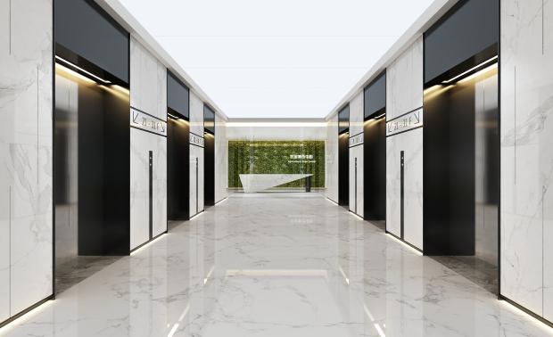 哈尔滨华鸿世贸中心办公室项目