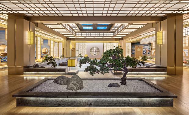 水疗温泉酒店设计:北京南宫温泉酒店